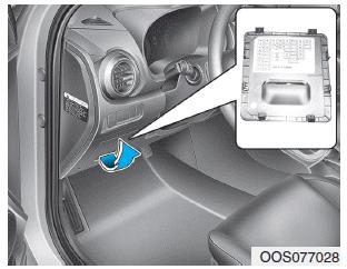 Hyundai Kona - Instrument panel fuse replacement - Fuses
