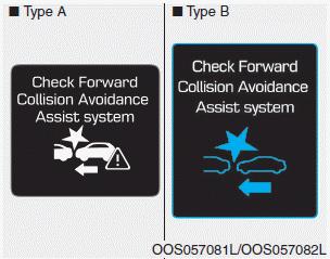 Hyundai Kona - System malfunction - Forward Collision-avoidance
